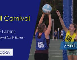 #22 for Design a Banner for Netball Carnival by FxZone
