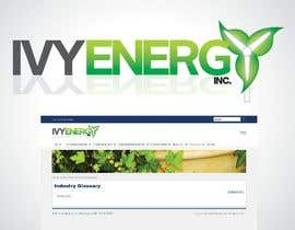 #201 para Logo Design for Ivy Energy de bcatunto