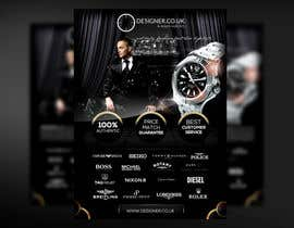 #28 for Design a Flyer for a luxury watch store by mirandalengo
