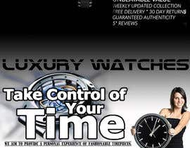 #23 for Design a Flyer for a luxury watch store by vladimirmacura