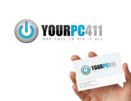 "#64 untuk Design a Logo for ""Your PC 411"" oleh GraphXFeature"