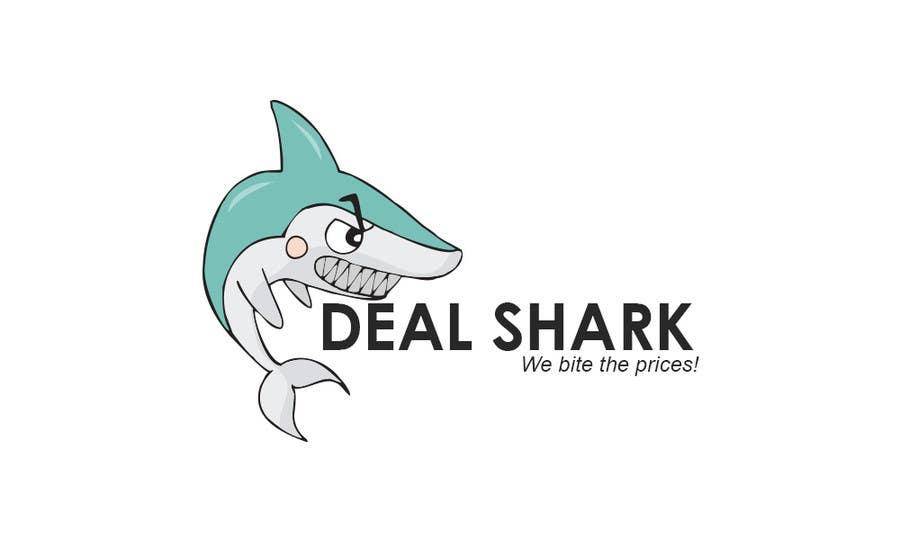 Konkurrenceindlæg #56 for Design a Logo for a website (DEAL SHARK)