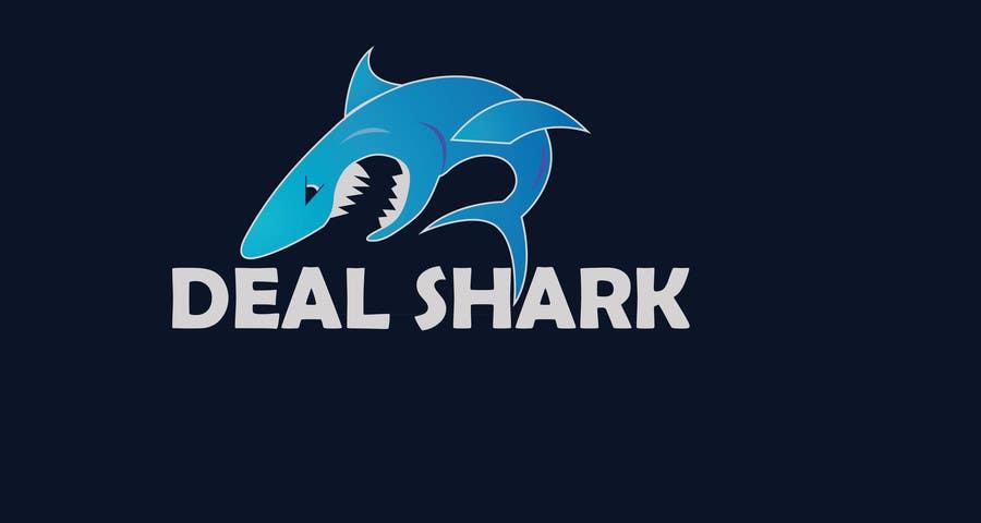 Konkurrenceindlæg #133 for Design a Logo for a website (DEAL SHARK)