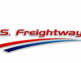#317 para Logo Design for U.S. Freightways, Inc. por alfonxo23