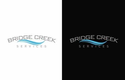 Nro 117 kilpailuun Bridge Creek Services Logo käyttäjältä hassan22as