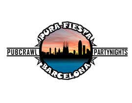 #16 para Design a Logo for Pub crawl, group party por theitcomputerguy