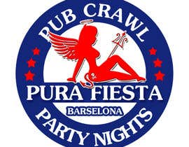 #23 para Design a Logo for Pub crawl, group party por RostykG