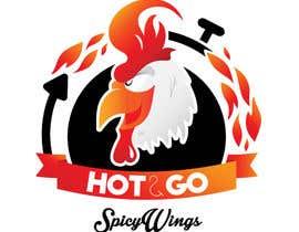 Nro 13 kilpailuun Diseñar un logotipo for: Spicy Wings HOT & GO käyttäjältä ApneaDesign