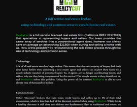 Nro 55 kilpailuun Design an Advertisement for RealtyCut käyttäjältä chathurnika