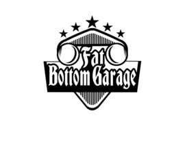 Nro 19 kilpailuun Design a Logo for Fat Bottom Garage käyttäjältä EdesignMK