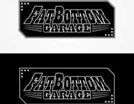 Nro 1 kilpailuun Design a Logo for Fat Bottom Garage käyttäjältä Hayesnch