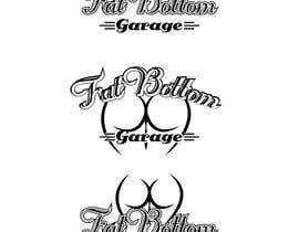 Nro 11 kilpailuun Design a Logo for Fat Bottom Garage käyttäjältä Raveg