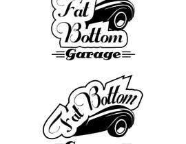 Nro 43 kilpailuun Design a Logo for Fat Bottom Garage käyttäjältä Raveg