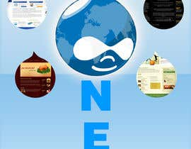#11 para Design a Logo for Drupal Project [One] por bvsk3003