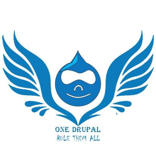 Penyertaan Peraduan #17 untuk Design a Logo for Drupal Project [One]