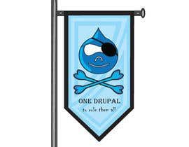 nº 19 pour Design a Logo for Drupal Project [One] par muralivilla