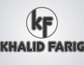 aryan232 tarafından Design a Logo for my name khalid farig için no 26