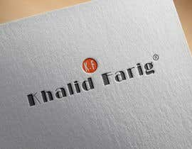 Gnaiber tarafından Design a Logo for my name khalid farig için no 11