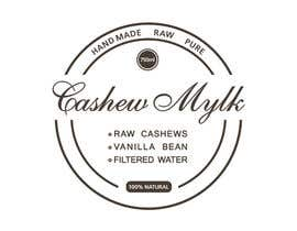 """#22 for I need some Graphic Design for a product label """"Cashew Mylk"""" by veranika2100"""