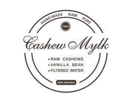 "#22 para I need some Graphic Design for a product label ""Cashew Mylk"" por veranika2100"