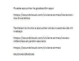 """VivianaArmas tarafından Contar parrafo de cuento """"Los 3 Cochinitos"""" para aplicacion de tableta için no 3"""