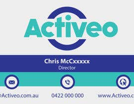 #94 untuk Design some Business Cards for Activeo oleh flechero