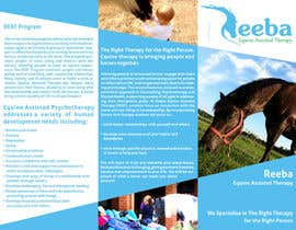 #7 para Brochure for Horse therapy company por Tommy50