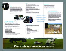#2 para Brochure for Horse therapy company por fringster