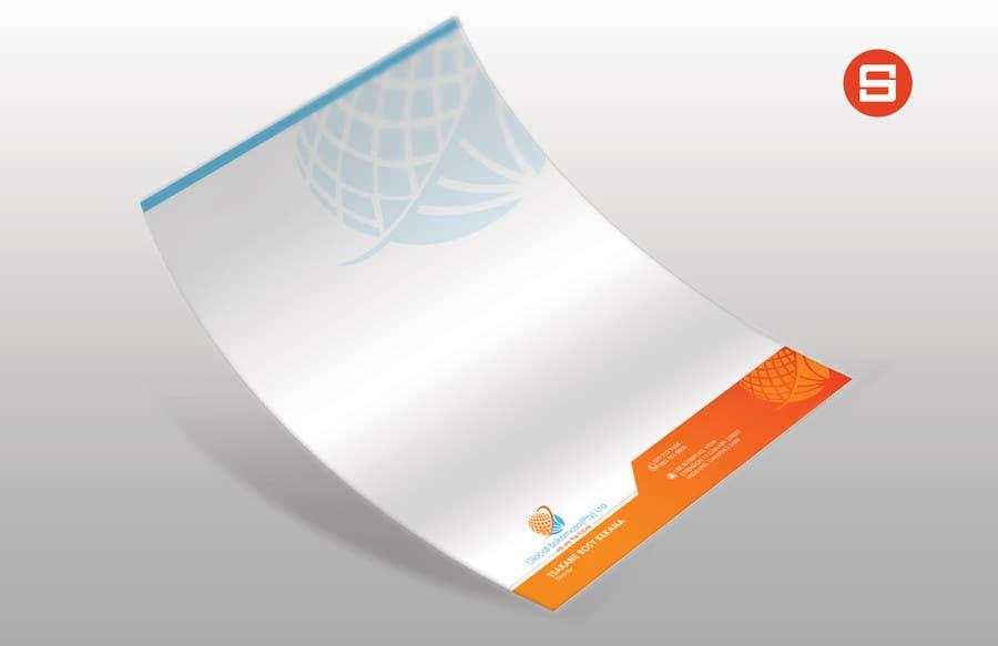 Kilpailutyö #31 kilpailussa Design a letterhead and business cards for a multi service company