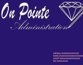 Nro 23 kilpailuun Design a Logo for On Pointe Administration käyttäjältä MarekLont