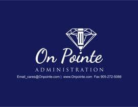 Nro 29 kilpailuun Design a Logo for On Pointe Administration käyttäjältä pradeep9266
