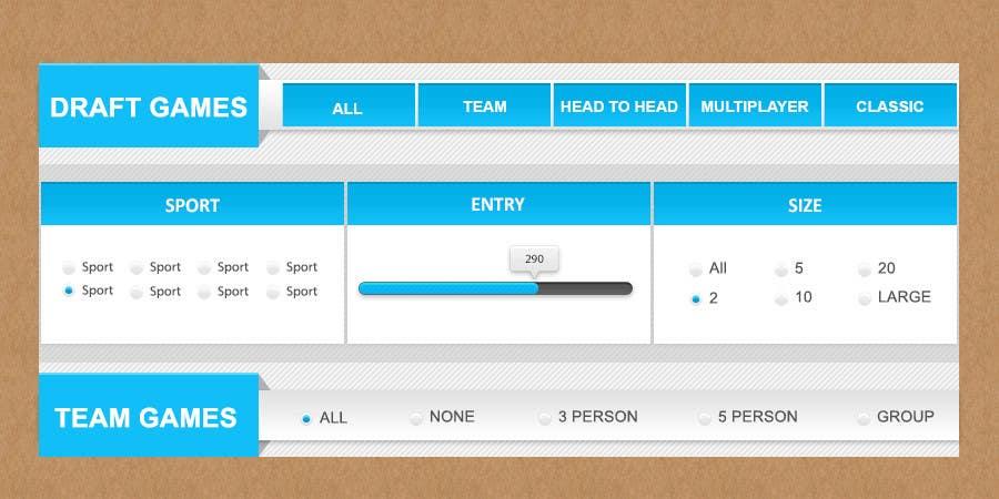 Penyertaan Peraduan #42 untuk Design a Website Mockup for  interface