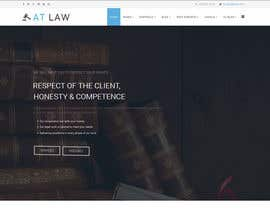 bogdancbs tarafından Design a webpage and logotype for Lawyers service için no 2