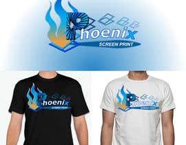#35 for Design a Logo for Phoenix Screen Printing af sauravarts
