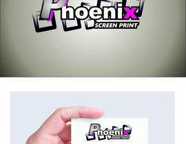 #5 for Design a Logo for Phoenix Screen Printing af ALEJVNDRO