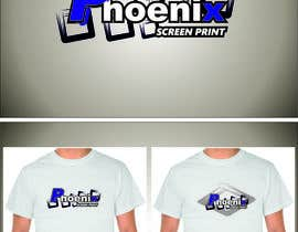 #9 for Design a Logo for Phoenix Screen Printing af ALEJVNDRO