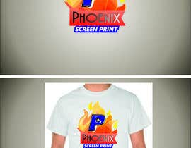#42 for Design a Logo for Phoenix Screen Printing af ALEJVNDRO