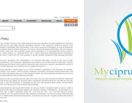 nº 110 pour Design a Logo for mycyprus.ru par guillex22