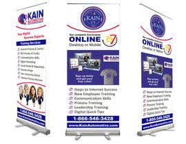 #16 untuk Design a Banner for use at our Booth at an Expo oleh creazinedesign