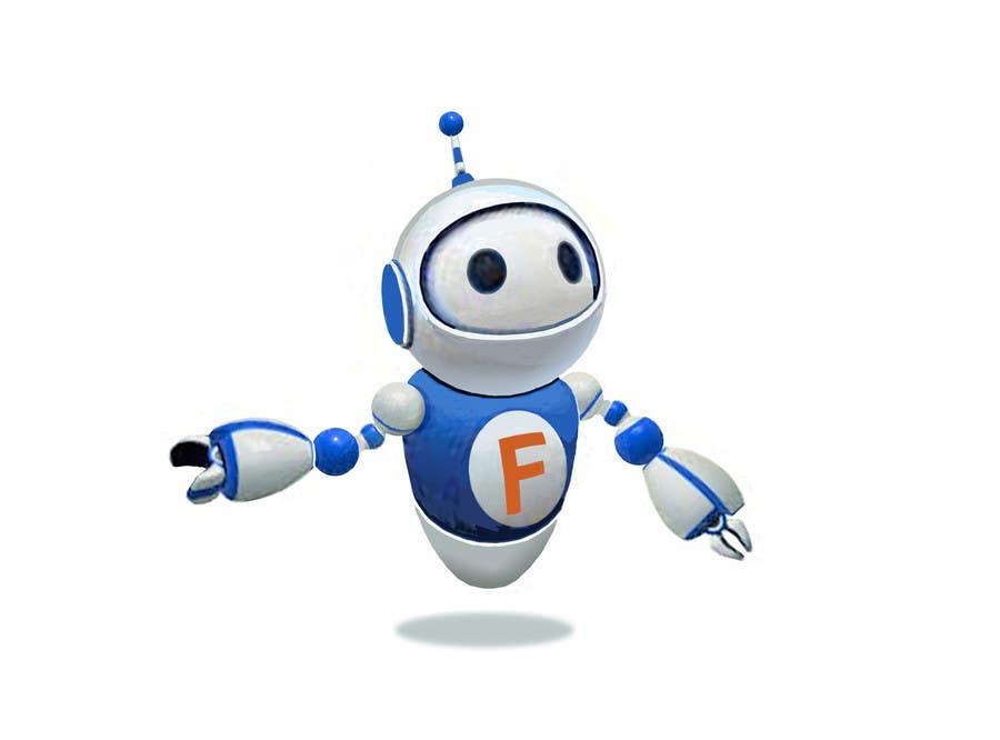 design a cute robot character freelancer