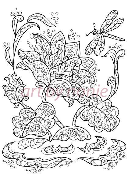 Inscrição nº 25 do Concurso para Illustrate 5 Original Spiritual Images (Line Illustration in Mendhi or Persian Vector Style or Similar)
