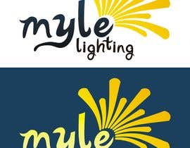 nº 72 pour Design a Logo for Myle Lighting par LuchianTeodor