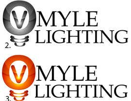 #59 para Design a Logo for Myle Lighting por DaryaDV