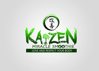 #9 cho Design a Logo for Kaizen Miracle Smoothie bởi kukubeso
