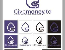 #327 para Design a Logo for Givemoney.to por indraDhe