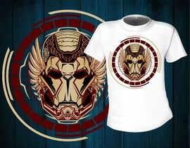 #15 for Design an ironman t shirt (helmet) af mj956