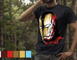 #17 for Design an ironman t shirt (helmet) af secondsyndicate