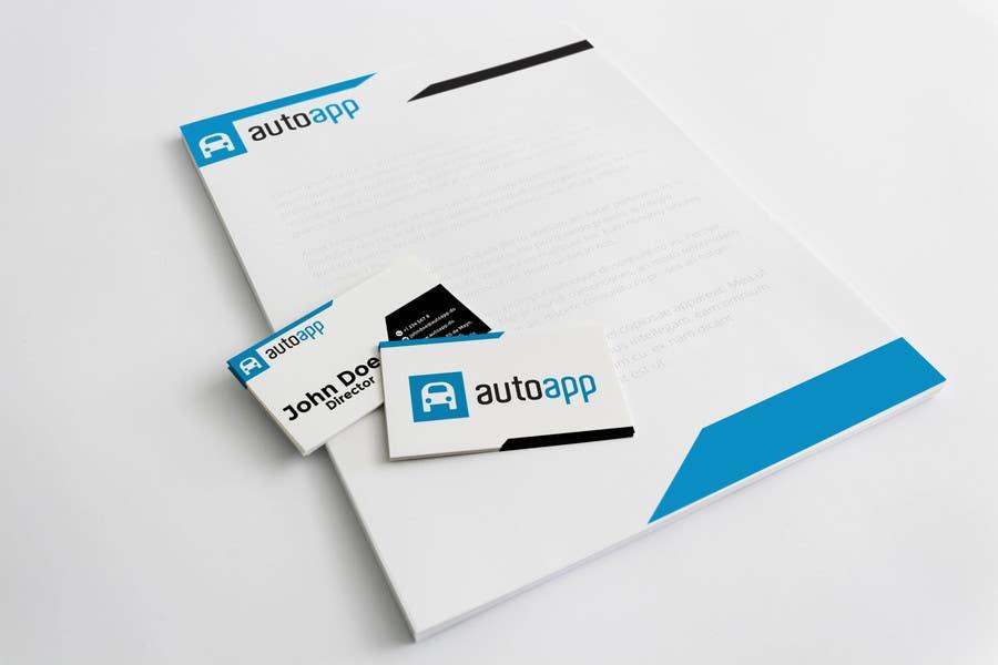 Penyertaan Peraduan #122 untuk Develop a Corporate Identity for autoapp.do