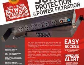 #11 for Flyer Design for surge protector af hmwijaya