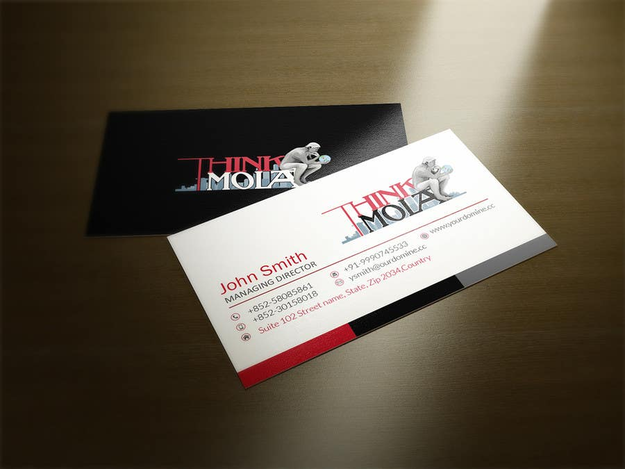 Kilpailutyö #47 kilpailussa Design Business Cards for my company